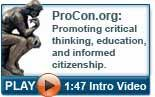 Video introduction to ProCon.org and the pros and cons of controversial topics.  List of 18 Legal Medical Marijuana States and DC ~ Laws, Fees, and Possession Limits.  Interesting!