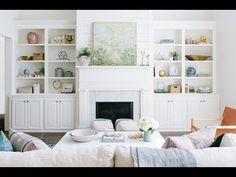 Traditional yet eclectic living room Living Room Built Ins, Eclectic Living Room, Coastal Living Rooms, Formal Living Rooms, Living Room Kitchen, Home Living Room, Living Room Designs, Living Room Decor, Kitchen Decor