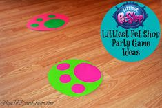 Hope In Every Season: Littlest Pet Shop Party Game and Activity Ideas #LittlestPetShop #birthday #crafts