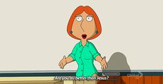 I got Lois Griffin! Which Badass Fictional Ginger Lady Are You?