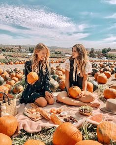 This Cute pumpkin picnic looks so fun,Picnic with Pumpkins ,autumn, things to do in autumn,fall season Cute Fall Pictures, Fall Photos, Fall Pics, Pumpkin Face, Cute Pumpkin, Best Friend Pictures, Bff Pictures, Bff Pics, Friend Pics
