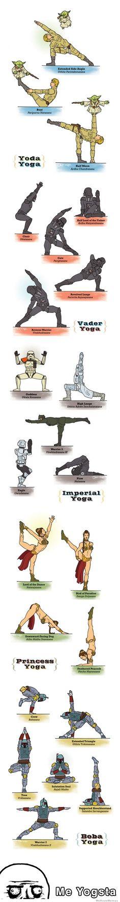 Yoda yoga jajajajajajaja @Ana Velez @Camila Fernández