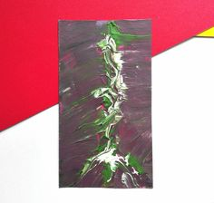 Original Painting, Art Painting Abstract Painting Acrylic Painting, Green and Purple Home Decor, Small Wall Art, Modern Wall Decor, Overload Painting Abstract, Painting Art, Purple Home Decor, Modern Wall Decor, Beautiful Artwork, Original Artwork, Original Paintings, Contemporary Art, Art Pieces