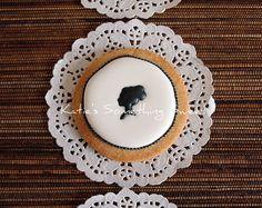 Cameo+CookiesEdible+Wedding+FavorsGift+for+por+katiesomethingsweet,+$51.00