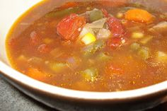 Kouzzina: And on the second day I made soup.