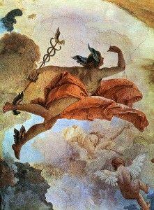 """""""Mercúrio foi chamado Hermes três vezes o grande por causa de sua força de alma e de seus poderes. Ele tratou por escrito de muitas maravilhas. Expôs prudentemente a obra da alquimia. Daniel Stolcius, (1624)"""