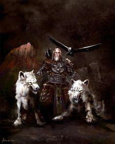 Viking... odin geri freki hugin and munin