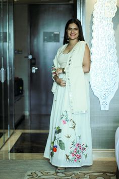 Sona Mohpatra In Purvi Doshi's Khadi Collection Celebrating Women's Day