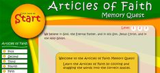 New Game Helps Children Memorize Articles of Faith - Church News and Events from LDS.org
