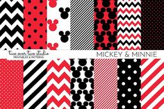 Disney Patterns by Two over Two Studio on @creativemarket