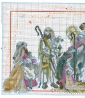 Gallery.ru / Фото #51 - Las Labores de Ana 115 - Ka Christmas Nativity, Christmas Cross, Cross Stitching, Needlepoint, Cross Stitch Patterns, Embroidery, Canvas, Crafts, Painting