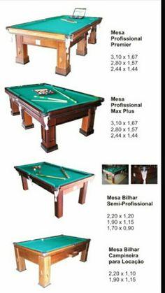 Medidas billar dimensiones de espacios interiores mesa de billar mesas y sala de billar - Medidas mesa billar ...