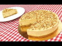 Tarta de Turrón sin Horno! - YouTube Pan Dulce, Christmas Brunch, Cheesecakes, Camembert Cheese, Catering, Sweet Treats, Sweets, Cooking, Ethnic Recipes