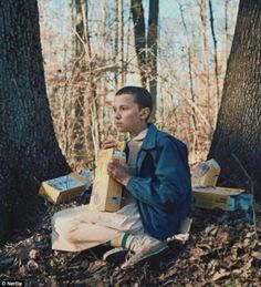Stranger Things's Millie Bobby Brown shaves her head to play Eleven   Daily Mail Online