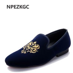 NPEZKGC Totem Printing Men's Flats Shoes Nubuck Leather Driving Shoes Mens Loafers Mocassins Male Boat shoes Zapatos Hombre