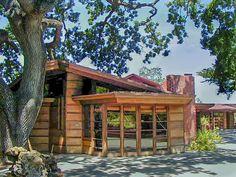 Hanna House aka Honeycomb House / 737 Frenchman's Road, Stanford, CA / 1936 / Usonian / Frank Lloyd Wright