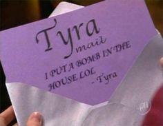 Tyra Ma . . . . wait what?!