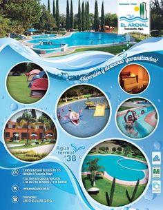Si quieres relajarte y disfrutar de un #clima agradable, disfruta las #AguasTermales de @BalnearioArenal #Tecozautla