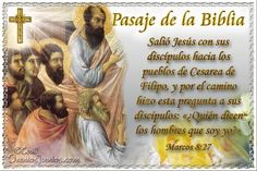 Vidas Santas: Santo Evangelio según san Marcos 8:27