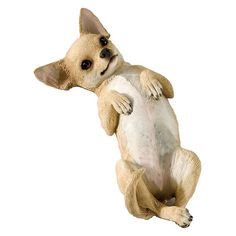 Sandicast Small Size Tan Chihuahua Sculpture - SS02801