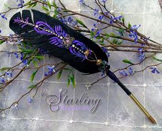 The STARLING Winged Enchantment Feather Quill Pen ...