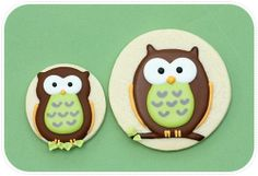 My Owl Barn: DIY: How to Make Decorated Owl Cookies  great site for my friend @Heidi Hutcheson