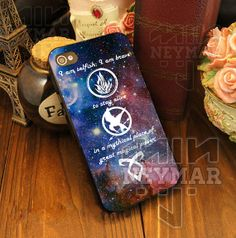 Divergent, mortal instrument, and hunger game for iPhone 4/4s/5/5S/5C - iPod 4/5 - Samsung Galaxy S2/S3/S4 - Black/White Case for iPhone by NEYMART on Etsy