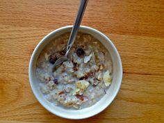 vata-pacifying spiced oatmeal