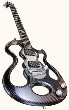 Guitare électrique XOX Single Dot en fibre de carbonne