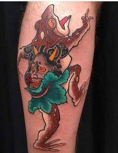 Frog Tattoos, All Tattoos, Body Art Tattoos, Fire Tattoo, S Tattoo, Koi Fish Tattoo, Traditional Japanese Tattoos, Funny Tattoos, Asian Tattoos