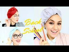 3 Easy Turbans for School & Work / 3 Turbans faciles pour l'école et au Travail - YouTube