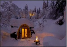 My dream winter home! ♥