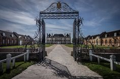 """Haras - France - Basse Normandie - Departement de L;Orne - Le Pin-au-Haras - Le Haras du Pin The Haras du Pin, the French National Stud founded in 1715 by decree of the Sun King, Louis XIV, is also known as """"the Equestrian Versailles"""". Any doubts about this appellation are quickly dismissed by a tour of the site. The superb estate and buildings bear witness to the respect in which man holds his """"most noble conquest"""". The stables fan out in a horseshoe shape around the majestic courtyard…"""