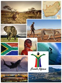 South Africa, officially the Republic of South Africa, is a country located at the southern tip of Africa. It is divided into nine provinces and has 2,798 kilometres (1,739 mi) of coastline. To the north lie the neighbouring countries of Namibia, Botswana and Zimbabwe; to the east are Mozambique and Swaziland; while Lesotho is an enclave surrounded by South African territory...