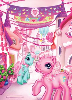 The real My Little Pony!!!! Makes me so happy to see this!