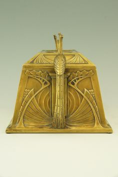 Art Nouveau jewellery box  WMF Germany.   1905