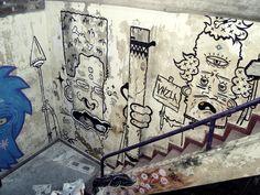 Street Art  By: Borneo Modofoker
