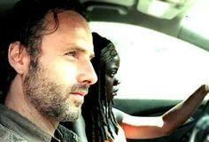 """Rick, Michonne & Carl Get Struck Offroad 