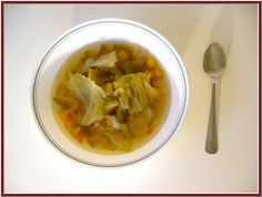 cabbage soup diet recipe.  I would NOT recommend this.  I *did lose 14 pounds in 5 days... I got EXTREMELY sick after the tomato and meat day.  I just don't feel like this diet is healthy.  The components of the diet are great!  But you need to toss in a piece of toast, some rice, a boiled egg... some things of substance.  Don't do it.