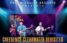CREEDENCE CLEARWATER REVISITED @ BUFFALO BILLS STAR OF THE DESERT ARENA