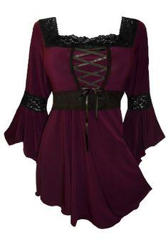 Dare To Wear Victorian Gothic Renaissance Corset Top Burgundy S Dare to Wear http://www.amazon.com/dp/B00AYKYWP0/ref=cm_sw_r_pi_dp_lB0Rtb02SZ0F5K1S