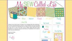 Blogger Custom Blog Design - My Sew Called Life