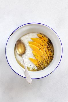 #Comfy | Coconut Rice Pudding with Mango