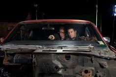 Christopher McQuarrie y Tom Cruise en 'Jack Reacher' - http://www.lanocheamericana.net/noticias/christopher-mcquarrie-dirigira-la-proxima-entrega-de-mision-imposible.html