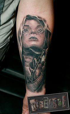 ferryman to death tattoo