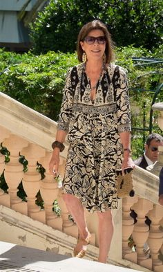 Caroline showed even bohemian can be elegant in July 2014. Photo: Getty Images