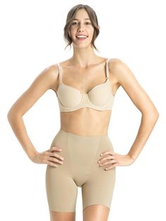 Jockey Nude Mid Thigh Mini NPLP Shapewear