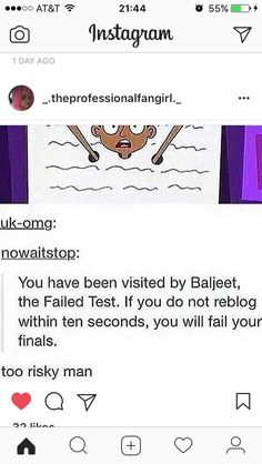 Just do it << im already about 2 weeks done with finals<< same but i absolutely bullshitted the last one so pray for me :-/ Tumblr Stuff, Tumblr Posts, Funny Quotes, Funny Memes, Hilarious, Funny Signs, Just Do It, Just In Case, Phineas Et Ferb