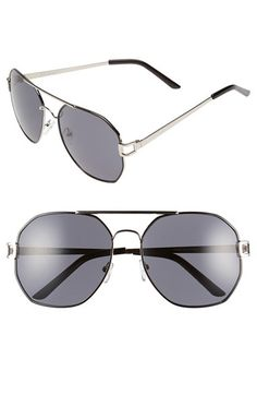 56b70cfb74 A.J. Morgan  Thornton  60mm Sunglasses Brow Bar