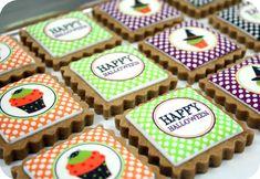 How to Make Edible Image Cookies {Halloween Cookies} | The TomKat Studio